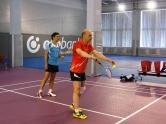 Парный турнир по бадминтону в Киеве