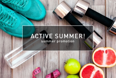 Summer promotion «ACTIVE SUMMER»