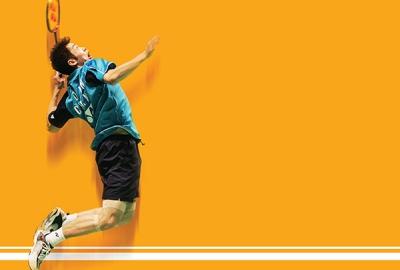 Tournament badminton