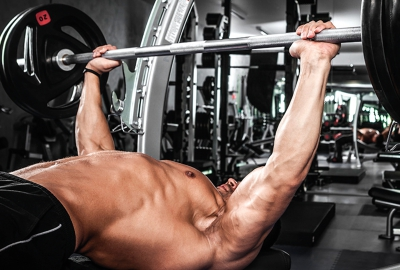 The competition for the national bench press