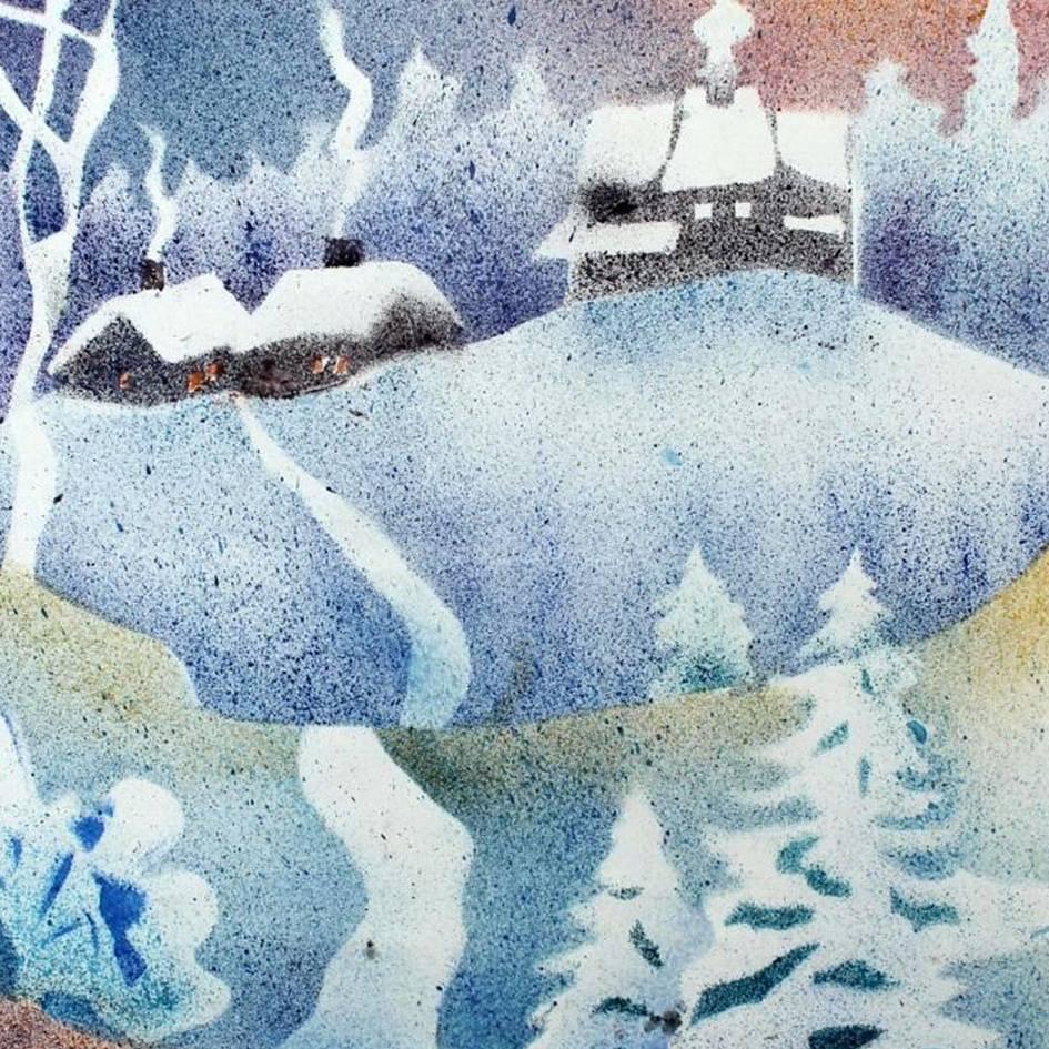 Дитячий майстер-клас «Зимовий ліс»