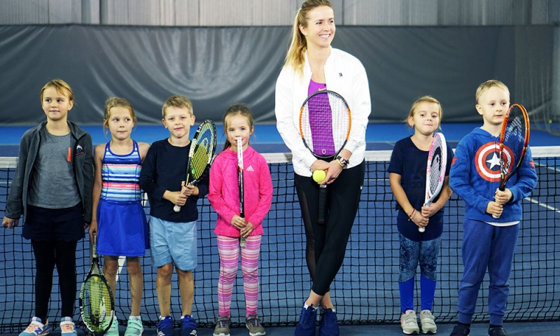 детский теннис в Гран-При